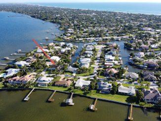 432 Riverview Lane, Melbourne Beach, Fl 32951 - Brenda Brooks - 561-951-7332 _Overhead View